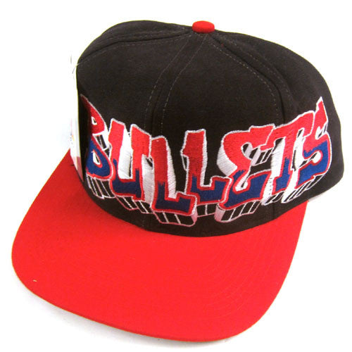 Vintage Washington Bullets Graffiti Snapback Hat NWT