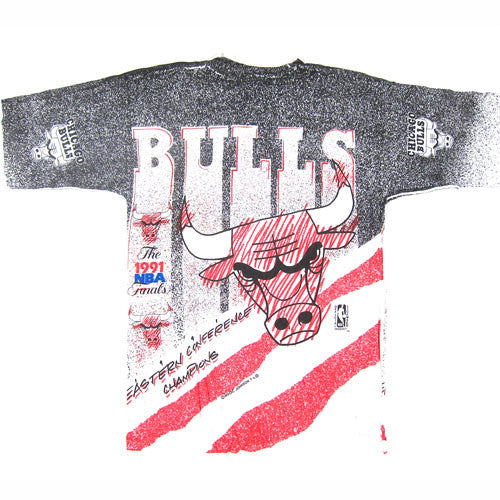 10a6ec72bcc4 Vintage Chicgao Bulls 1991 NBA Finals T-shirt NBA basketball Jordan Pippen  – For All To Envy