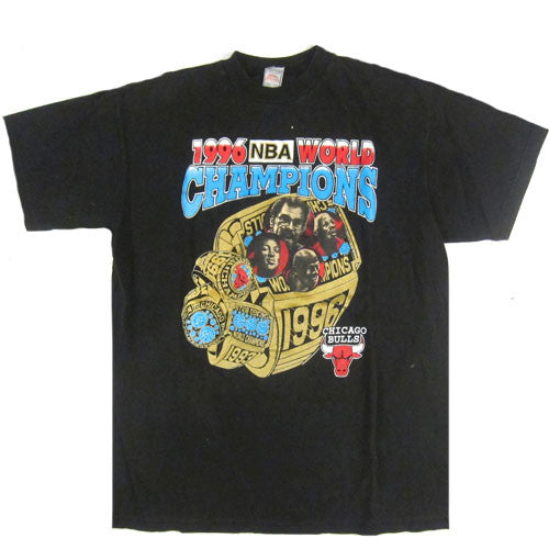 Vintage Chicago Bulls 1996 World Champions T-shirt