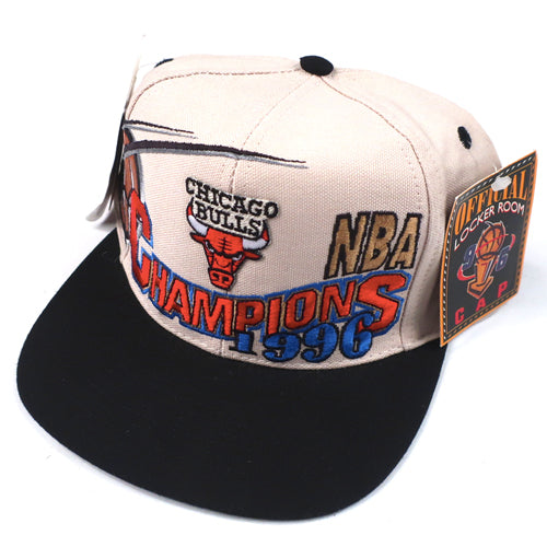 Vintage Chicago Bulls 1996 Hat NWT