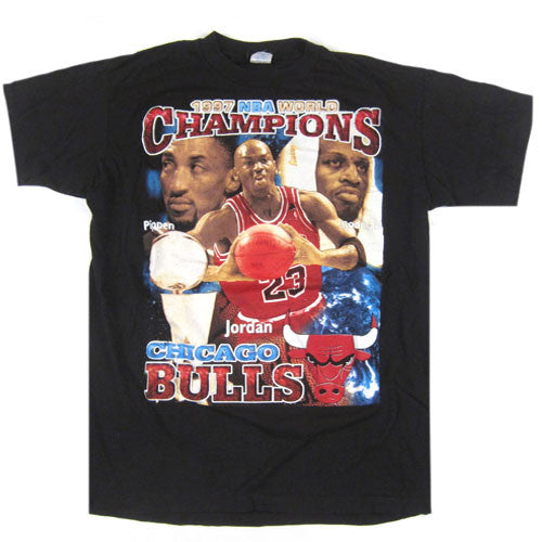 Vintage Chicago Bulls 1997 NBA Champs T-Shirt
