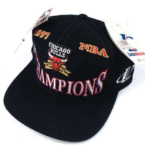 Vintage Chicago Bulls 1997 Hat NWT