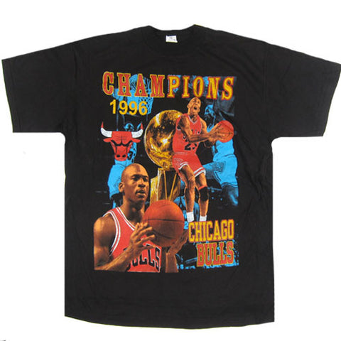 Vintage Chicago Bulls 1996 NBA Champions T-shirt