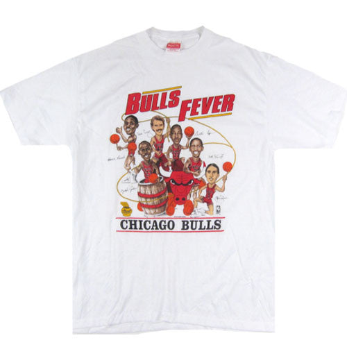 Vintage Chicago Bulls Fever Jordan Caricature T-shirt