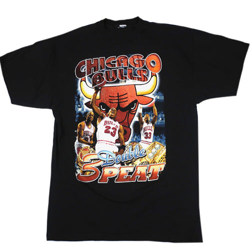 Vintage Chicago Bulls Double 3-Peat 1998 T-Shirt
