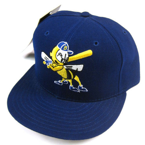 Vintage Burlington Bees New Era Fitted Hat NWT