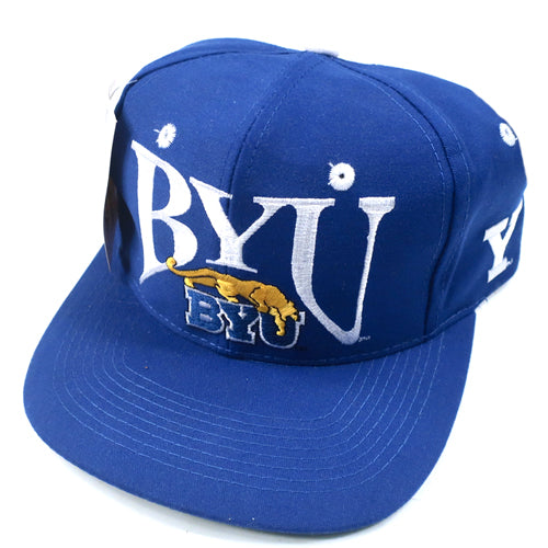 Vintage BYU The Game Hat Brigham Young University NCAA College 90s Snapback  – For All To Envy 41c9fa9229d