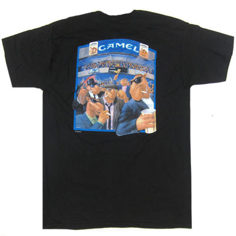 Vintage Joe Camel Football T-shirt