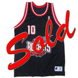 Vintage Sam Cassell Houston Rockets Champion Jersey NWT
