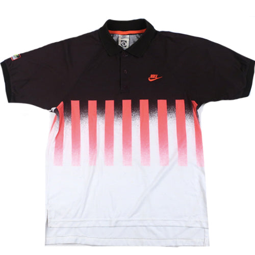 a6ebf100 Vintage Nike Challenge Court Andre Agassi Polo Shirt Tennis 90s Air Tech  Challenge ATC – For All To Envy