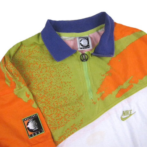 quality design 36008 8290a Vintage Nike Challenge Court Andre Agassi Polo Shirt