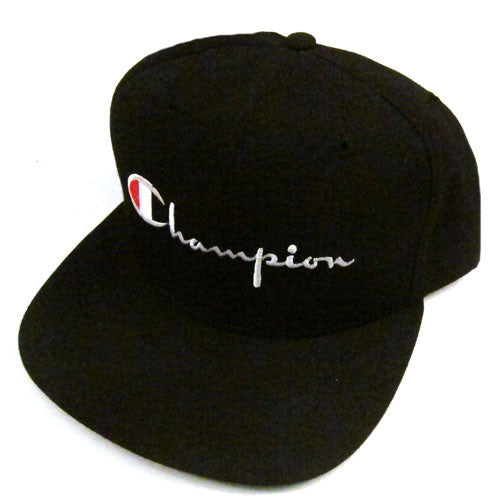 Vintage Champion Logo Snapback Hat Cap NWT 90s NBA NFL NHL MLB deadstock  90s Hip Hop Rap – For All To Envy 529fd6bc2a4