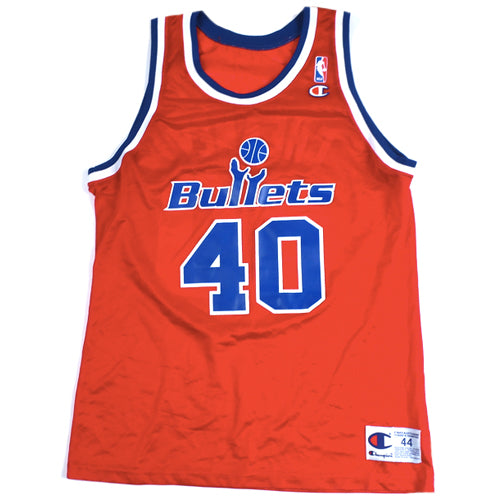 Vintage Calbert Cheaney Washington Bullets Champion Jersey