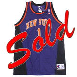 Vintage Chris Childs New York Knicks Jersey