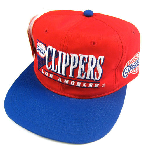 Vintage Los Angeles Clippers Snapback Hat NWT