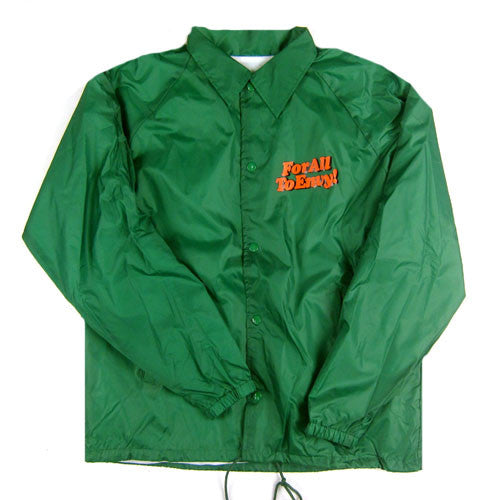 "For All To Envy ""Menthol"" Coaches Jacket"