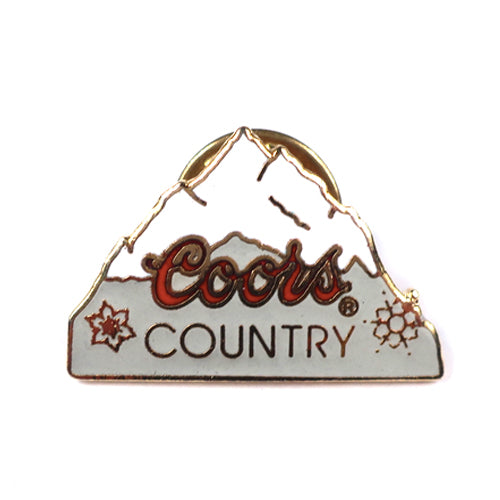 Vintage Coors Country Beer Pin