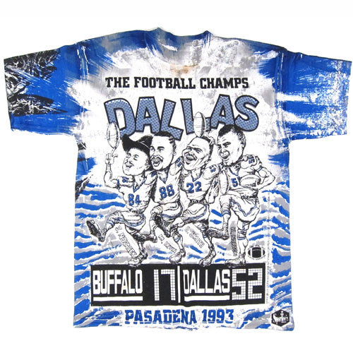 Vintage Dallas Cowboys 1993 Super Bowl T-Shirt