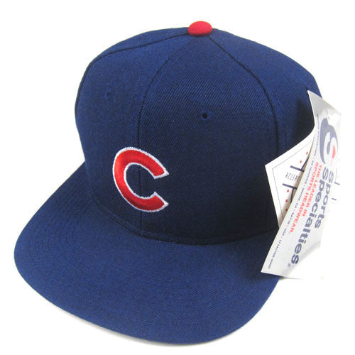 Vintage Chicago Cubs Sports Specialties Snapback Hat NWT