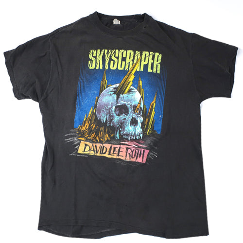 Vintage David Lee Roth Skyscraper T-shirt