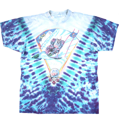 Vintage Grateful Dead 1994 Winter Tour US Ski Team T-shirt