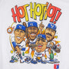 Vintage LA Dodgers Hot Hot Hot Caricature T-shirt