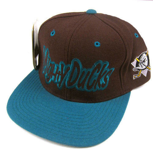 Vintage Anaheim Mighty Ducks Starter Snapback Hat NWT