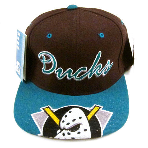 f33102d152c5cf ... coupon code for vintage anaheim mighty ducks starter snapback hat 90s nhl  hockey for all to ...