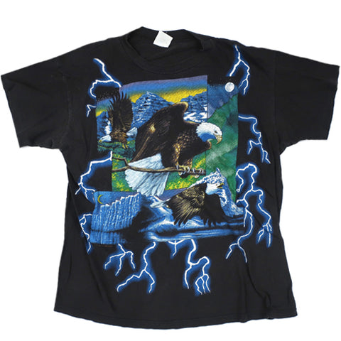 Vintage Eagle Lightning T-shirt