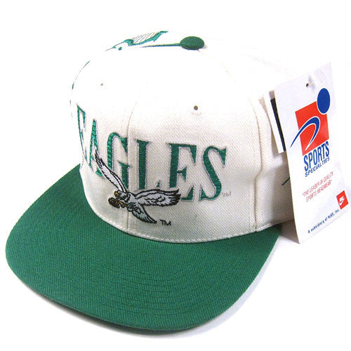 Vintage Philadelphia Eagles Sports Specialties Snapback Hat NWT