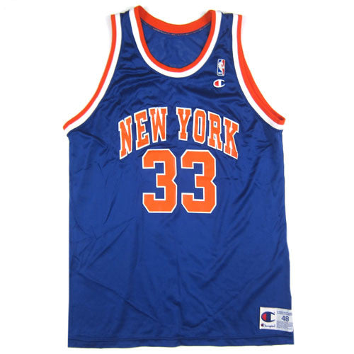 Vintage Patrick Ewing New York Knicks Champion Jersey