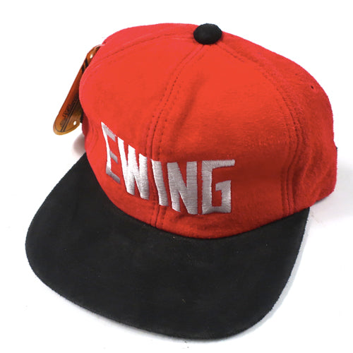Vintage EWING Suede Fitted Hat
