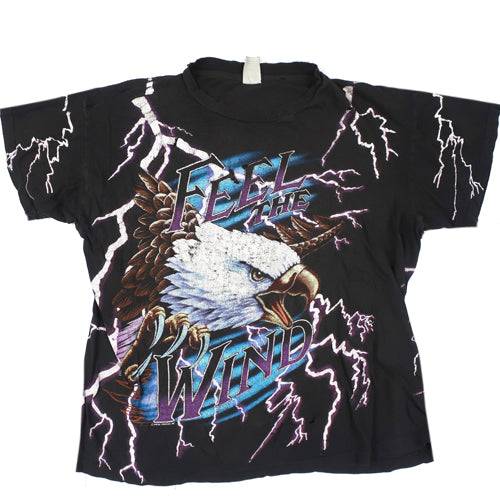 Vintage Feel The Wind T-shirt