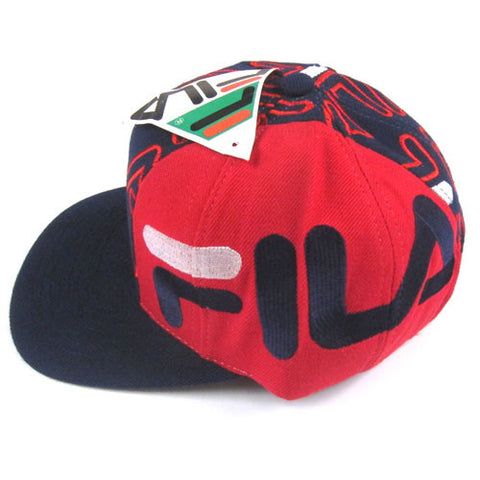 e5457efa4f8 Vintage Fila 90s Snapback Hat NWT Hip Hop Rap – For All To Envy