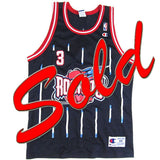 Vintage Steve Francis Houston Rockets Champion Jersey
