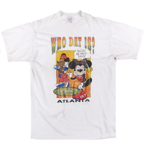 Vintage Freaknik Who Dat Is? Atlanta 1997 T-shirt
