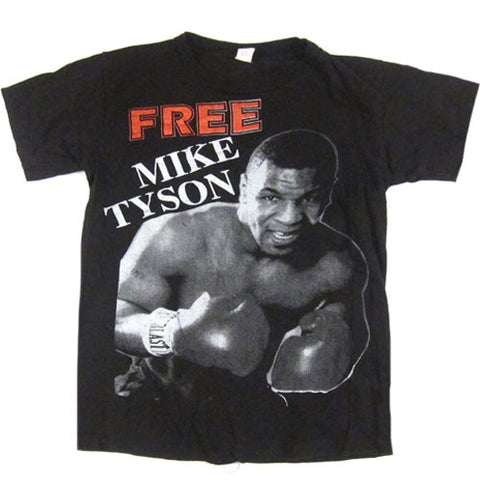 Vintage Free Mike Tyson 1995 T-Shirt