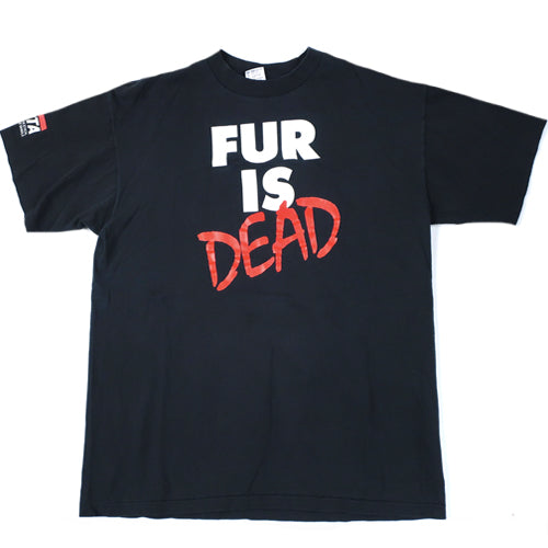 Vintage PETA Fur is Dead T-shirt