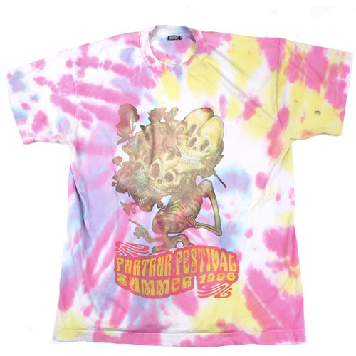 95f6b64a Vintage Further Festival 1996 T-shirt 90s Rock Grateful Dead Tie Dye – For  All To Envy