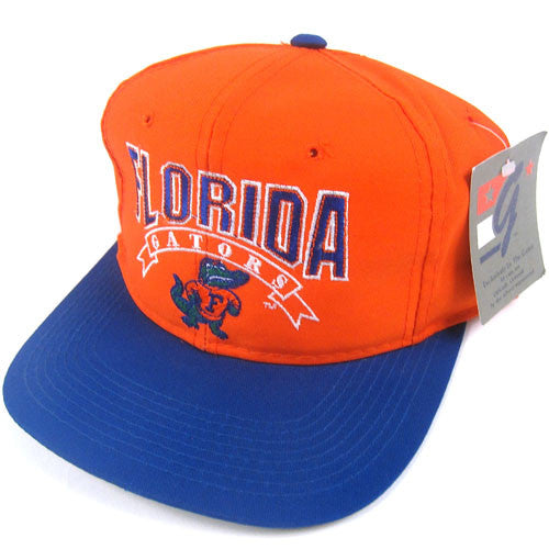 Vintage Florida Gators The Game Snapback Hat NWT