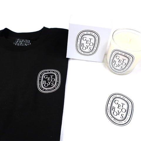 "For All To Envy ""Mind Playing Tricks on Me"" Shirt & Candle Pack"