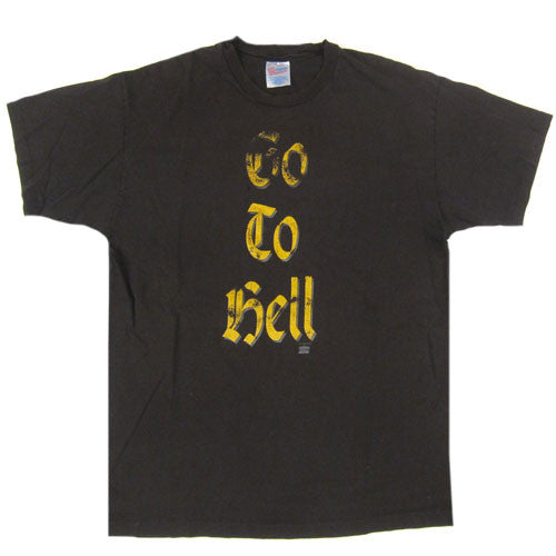 Vintage Meat Loaf Go To Hell T-shirt