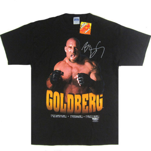 Vintage Bill Goldberg Unstoppable WCW T-Shirt