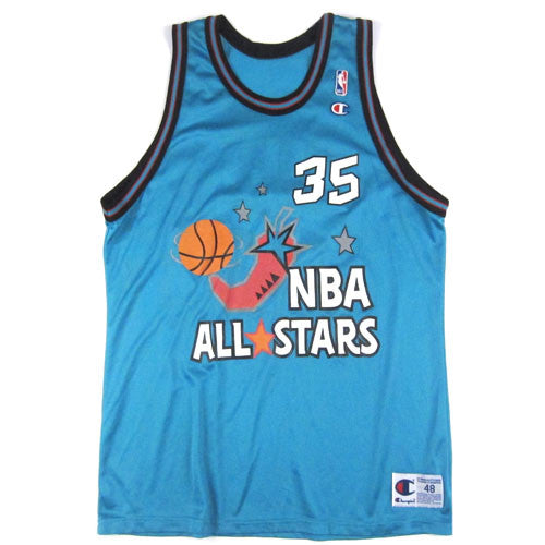 Vintage Grant Hill 1996 All Star Champion Jersey