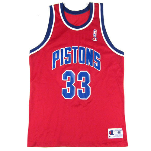 ec61be3e7 Vintage Grant Hill Detroit Pistons Champion Jersey NBA Basketball – For All  To Envy