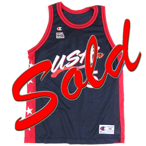 Vintage Grant Hill USA Dream Team Champion Jersey
