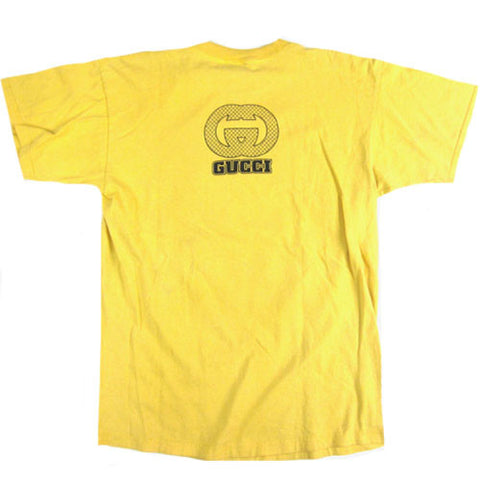 c68928e9d6f Vintage Gucci 90s Bootleg T-shirt 90s Dapper Dan Hip Hop Rap – For ...