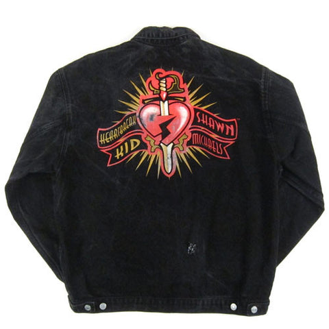 Vintage Shawn Michaels Heartbreak Kid Jean Jacket