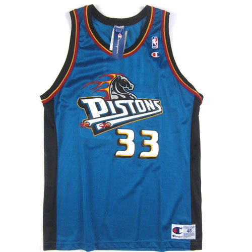 282dba9a9 Vintage Grant Hill Detroit Pistons Champion Jersey 90s NBA basketball – For  All To Envy