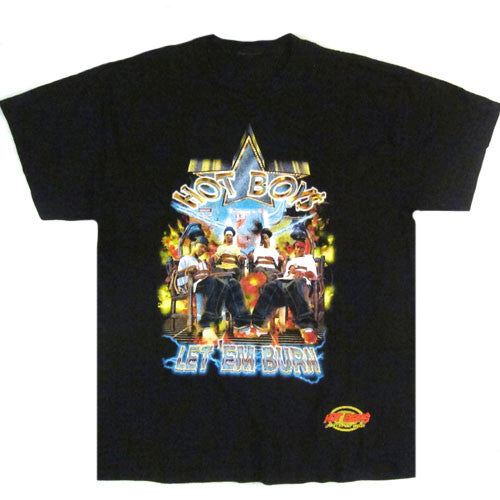 Vintage Hot Boys Let 'Em Burn T-shirt